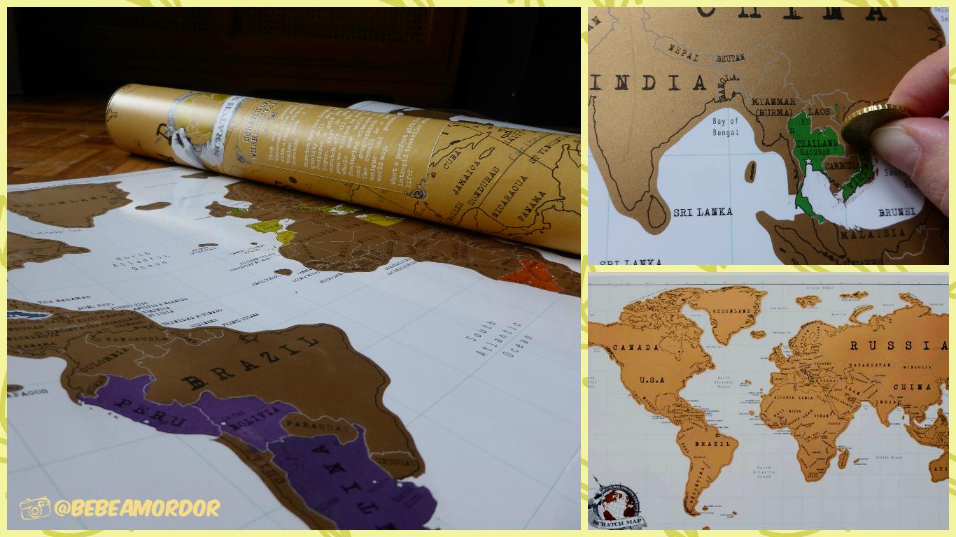 Collage - pro - mapamundi