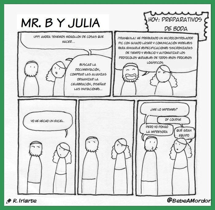 Mr. B y Julia - Excel de Boda