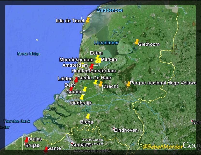 Mapa Holanda_Fotor