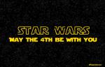 STAR WARS MAY 4TH