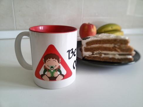 ¡Mi taza y mi tarta!