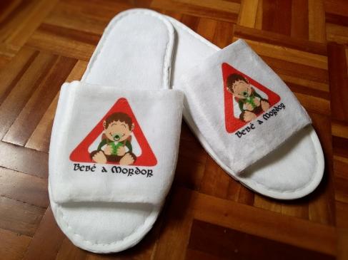 Mis zapatillas de viaje