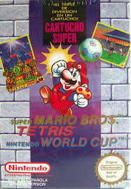 El mítico pack 3 en 1 de NES