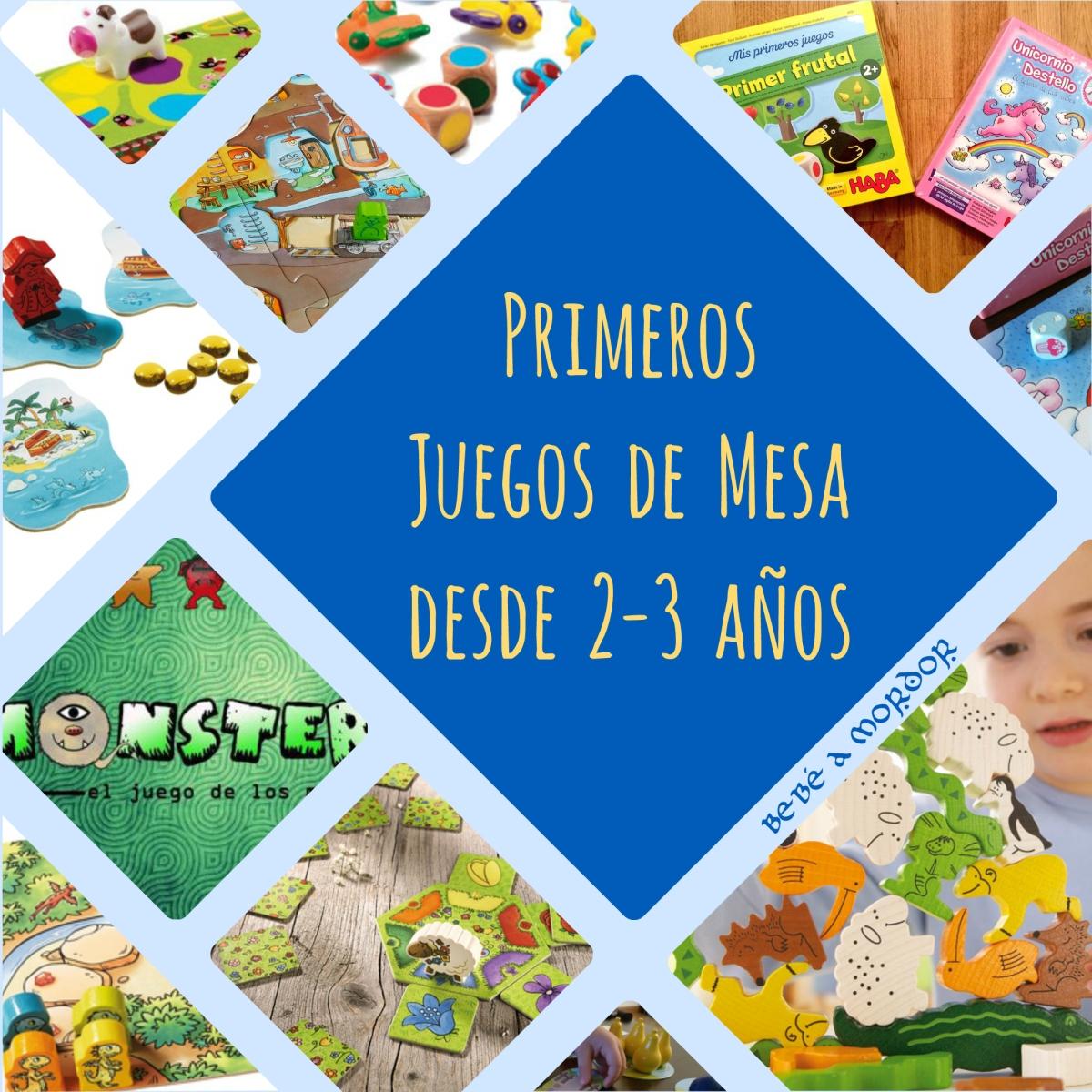 [Primeros Juegos de Mesa] 10 juegos para niños desde 2-3 años