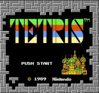 Tetris: Push Start