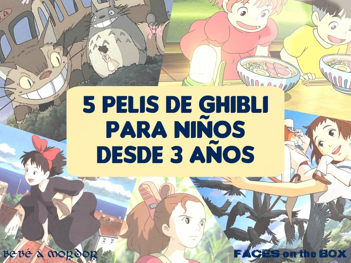 5 películas de Studio Ghibli para niños desde 3 años