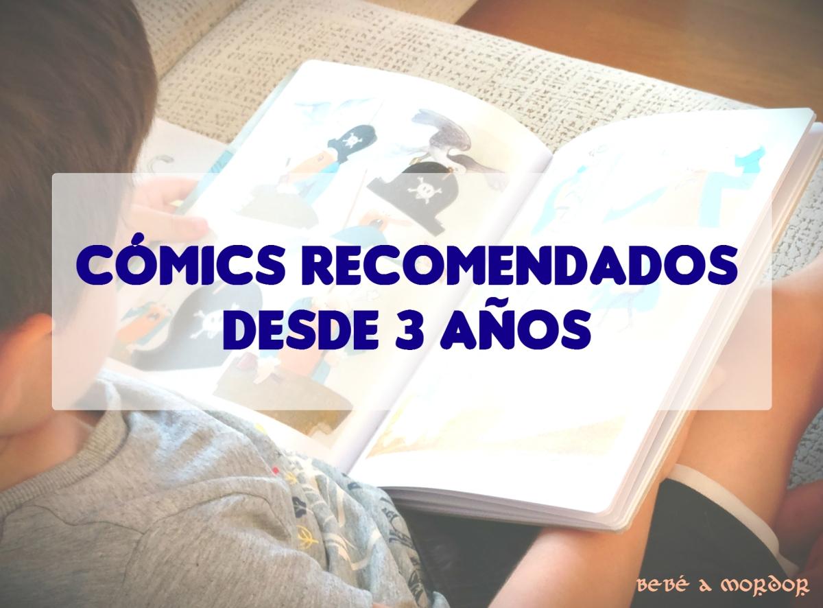 6 Cómics recomendados para niños desde 3 años