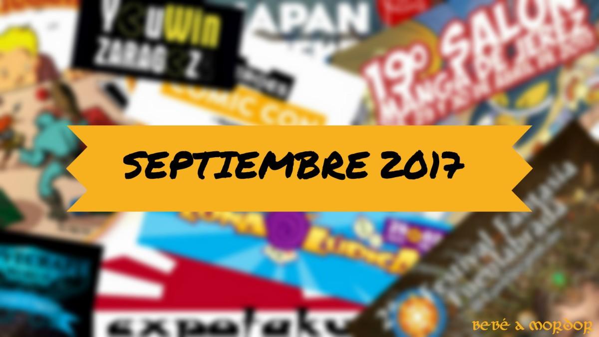 [Calendario Friki] Septiembre 2017