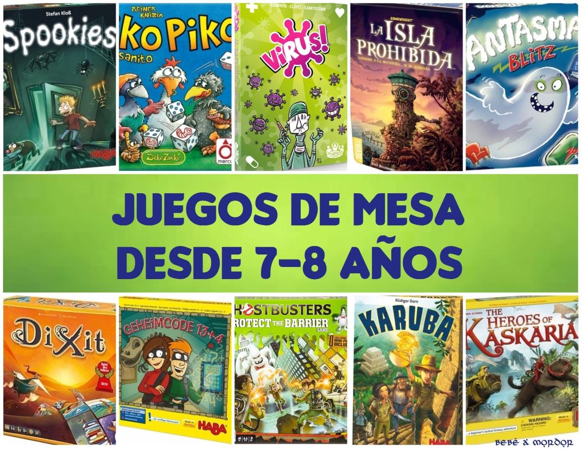 [Juegos en familia] 10 Juegos de mesa para niños desde 7-8 años