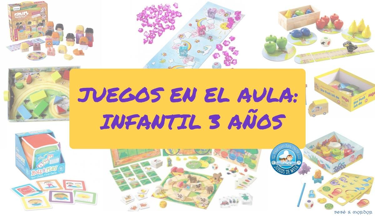 [Efecto Lúdico] Juegos por curso: Infantil 3 años