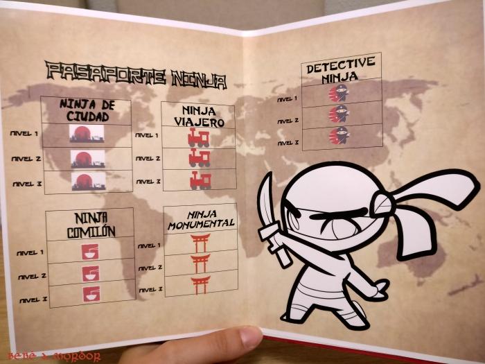 Pasaporte lúdico - insignias