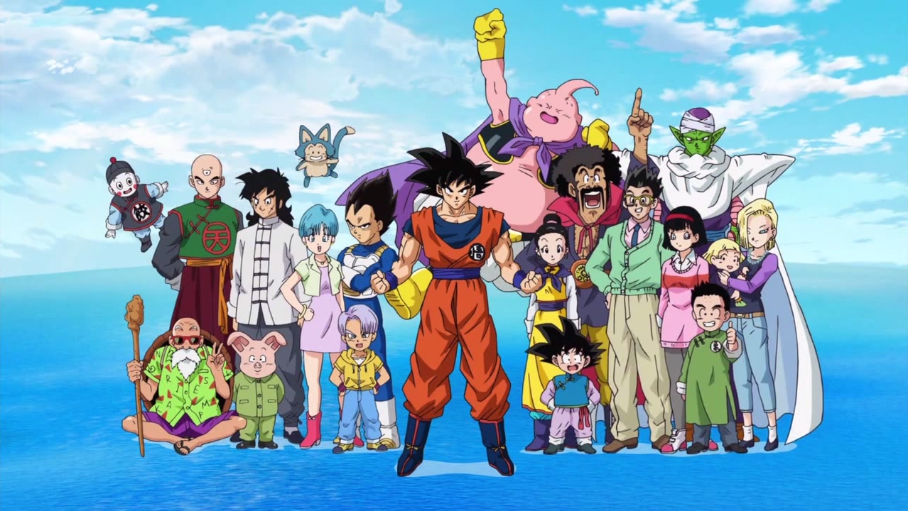 Dragon Ball Super personajes