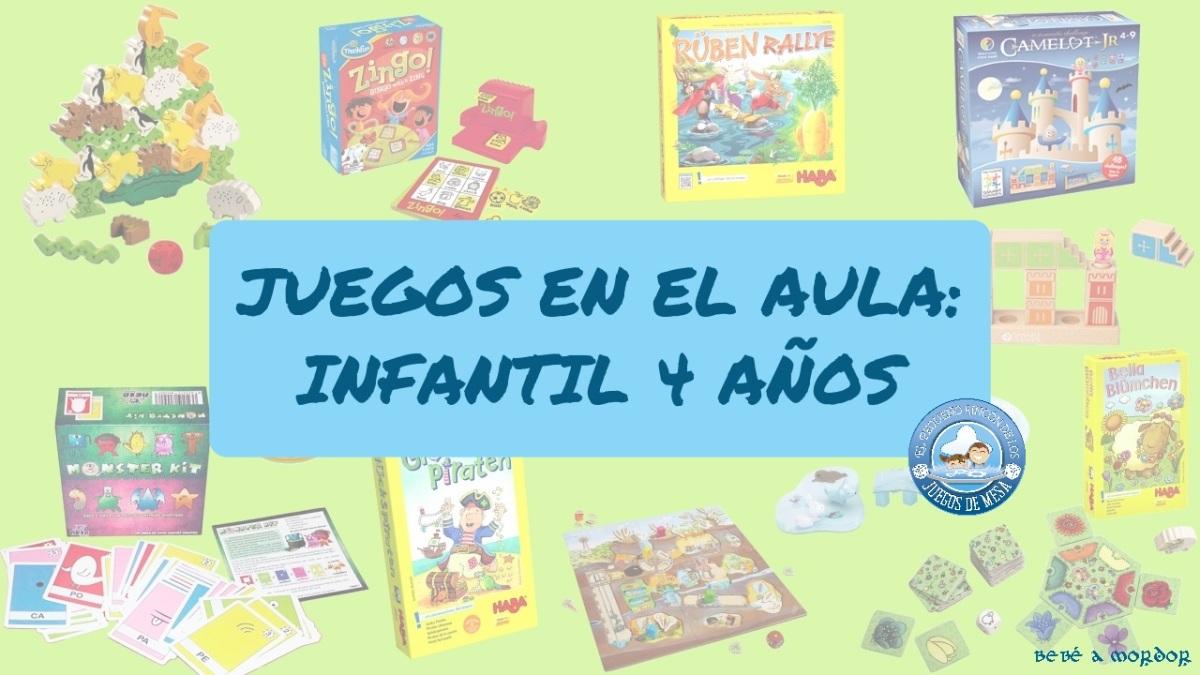 [Efecto Lúdico] Juegos por curso: Infantil 4 años