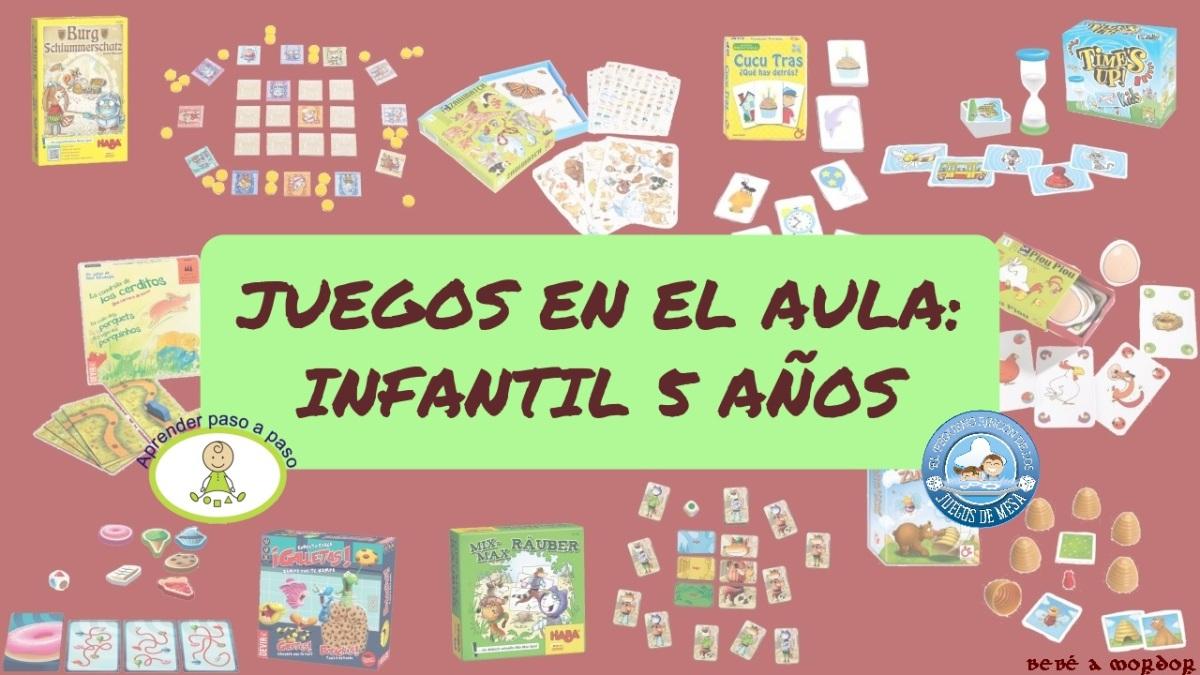 [Efecto Lúdico] Juegos por curso: Infantil 5 años