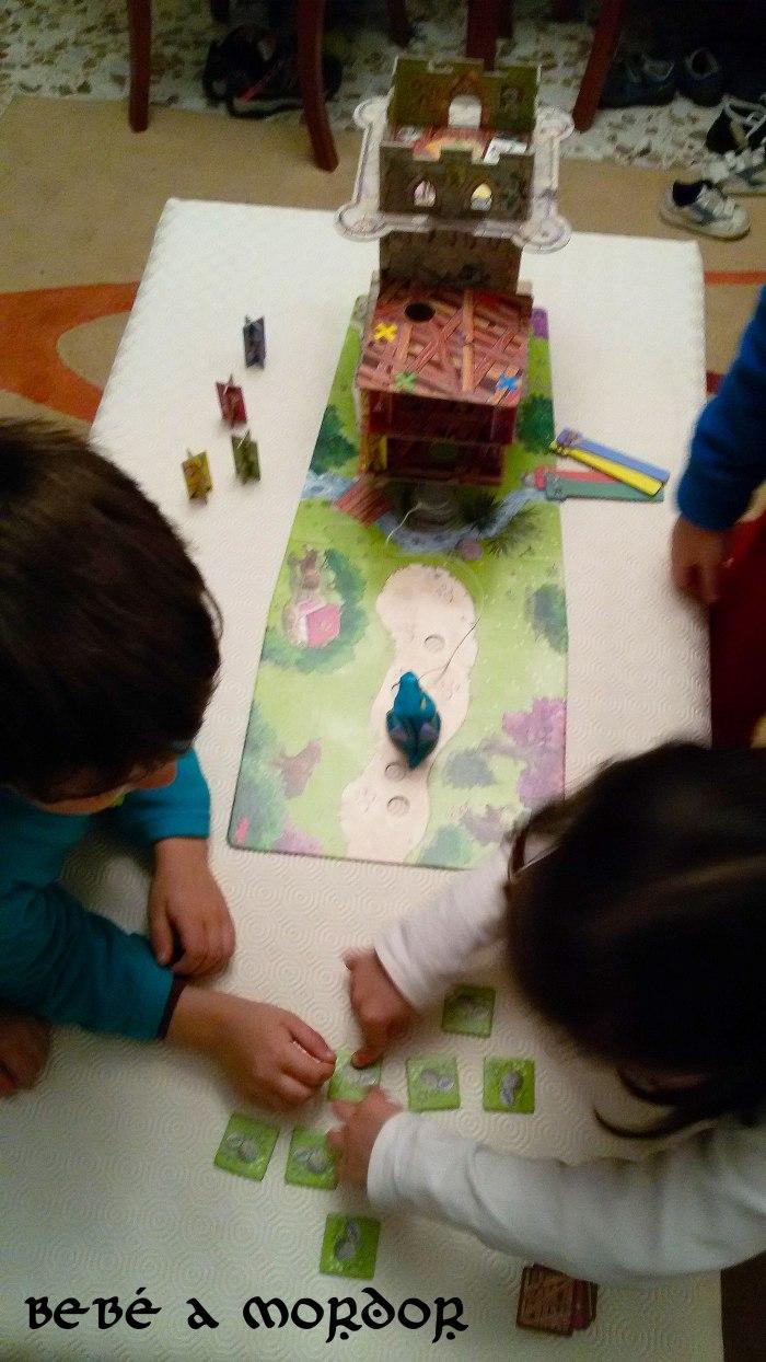 La Torre del Dragón de Haba cooperativo 5 años