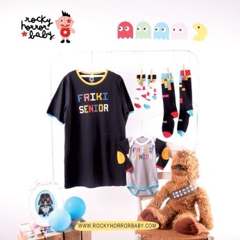 Camiseta Friki Senior Hijo Tetris