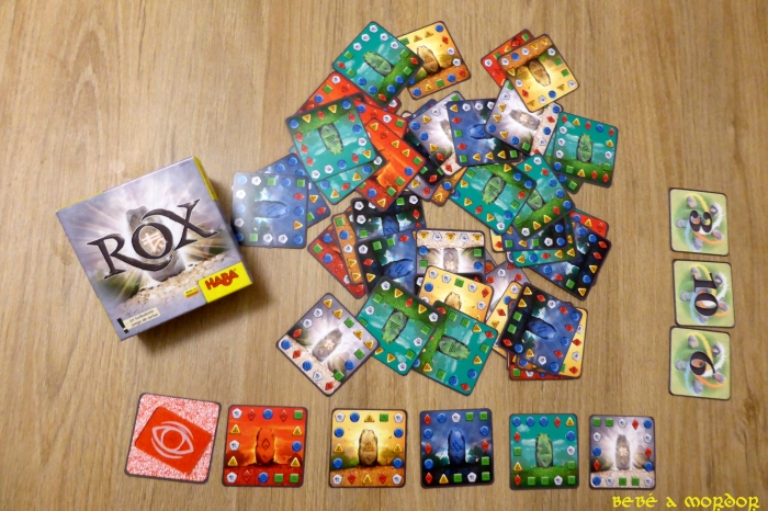 Juego de mesa cartas ROX de Haba